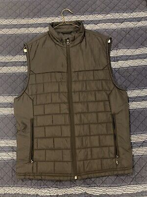 Abercrombie & Fitch Mens Black Vest - Size Small