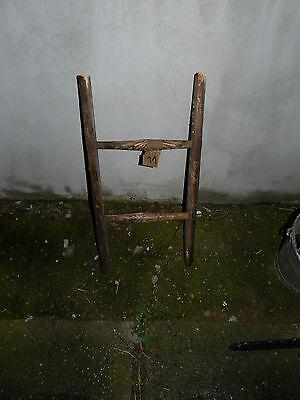 Alte Holzleiter Handtuchhalter Blumenampel Baumleiter Kleiderhalter Deco 11