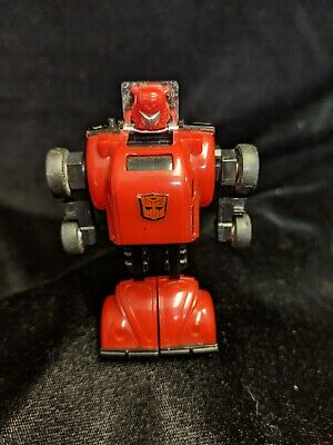 G1 Transformers Red Bumblebee VW Bug vintage original Rare