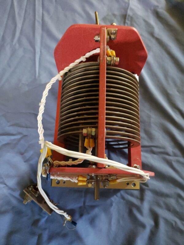 FIXED ANTENNA TUNER COIL  HIGH POWER  PHASETEK INC P400-304 HAM RADIO Rare