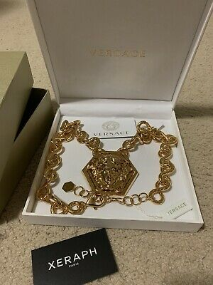Versace x Haas Brothers Medusa Necklace AUTHENTIC & BRAND NEW