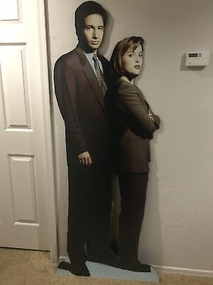 X-Files Mulder Scully Standee Rare