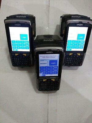 Sagem Securite Psion Teklogix Ikon 7505 Morphorapid Bundle