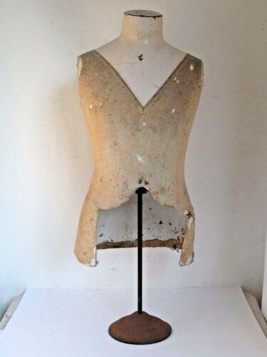 Antique  French Mannequin Dress Form for Mens Shirts etc.
