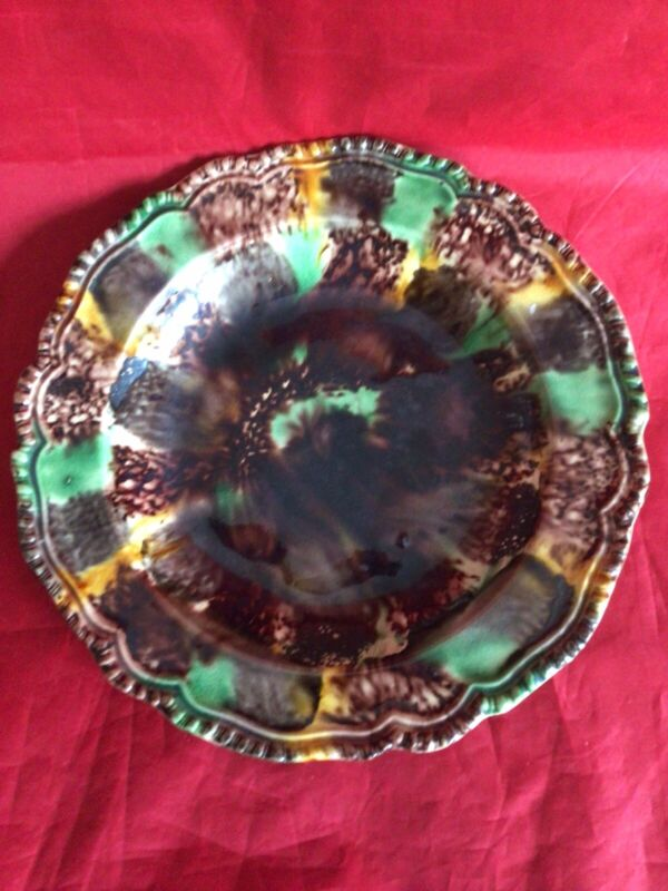 Whieldon Staffordshire 18th c Soup Plate