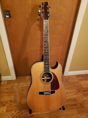 Fender F-265C Acoustic Exotic  Woods Ship World Wide