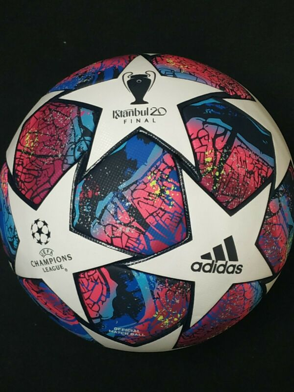 ADIDAS UEFA CHAMPIONS LEAGUE FINAL ISTANBUL 20 FIFA APPROVED OFFICIAL MATCH BALL