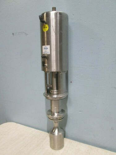 """""""SUDMO MC 3504"""" COMMERCIAL/INDUSTRIAL STAINLESS STEEL SANITARY DOUBLE SEAT VALVE"""