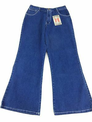 NWT 100 JEAN STREET GIRLS MED WASH BLUE DENIM SLIGHT BOOTCUT JEANS ...