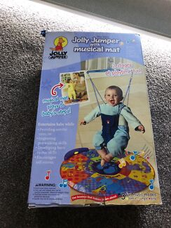 NEAR NEW Jolly Jumper with Stand and Musical Mat