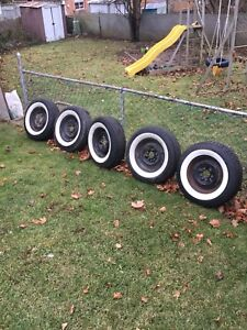 205 75 r14 American Classic white wall tires