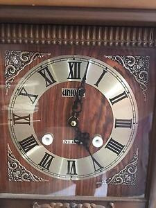 Unique 31-day Wooden Chiming Wall Clock Spring Farm Camden Area Preview