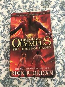 Science Fiction Book Heroes of Olympus house of hades by Rick Rio