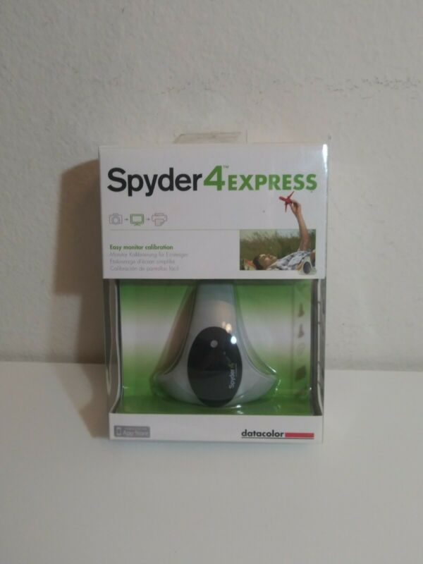 Spyder 4 Express ~ Easy Monitor Calibration Datacolor Brand New Sealed