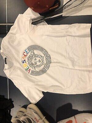 versace mens t shirt xxl, runs small