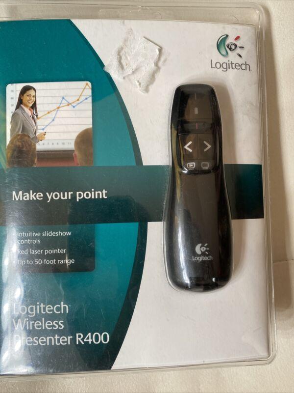 Logitech Wireless Presenter R400, Wireless Presentation Remote Clicker