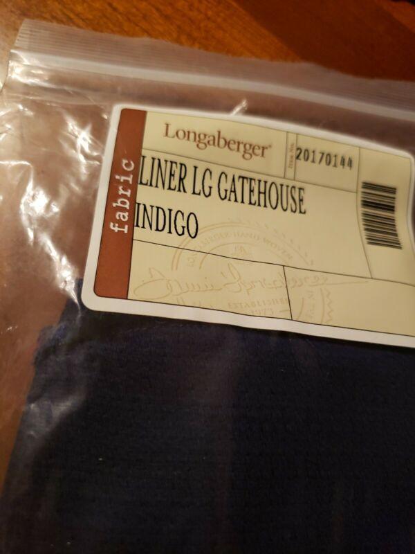 Longaberger Oatmeal Small Sm Key Fabric Basket Liner Usa New Nib