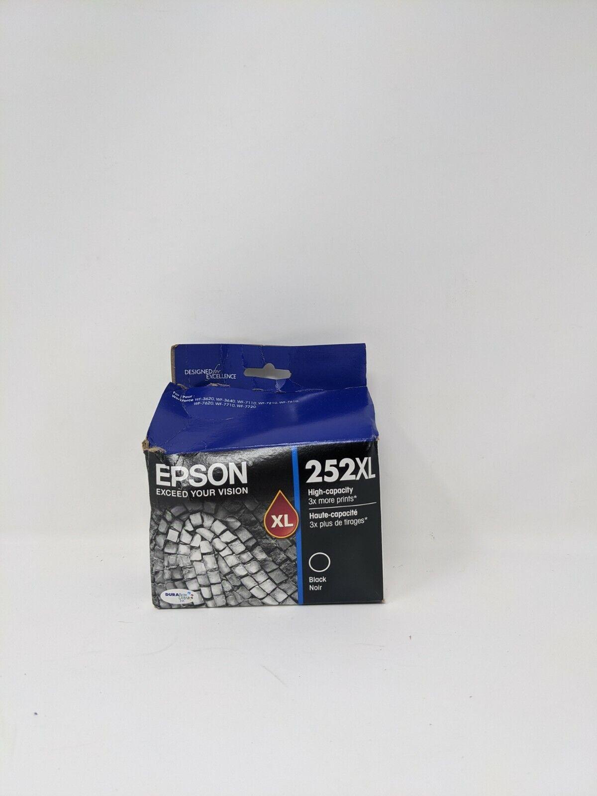 Epson T252XL120 DURABrite Ultra Black High Capacity Cartridg