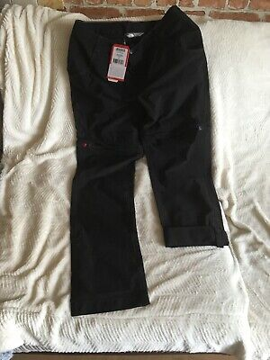 The North Face Women's Exploration Convertible Trousers (Black - Med/Size 8 EU.