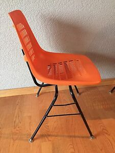 Iconic Expo 67 Chairs- mid Century Eames style