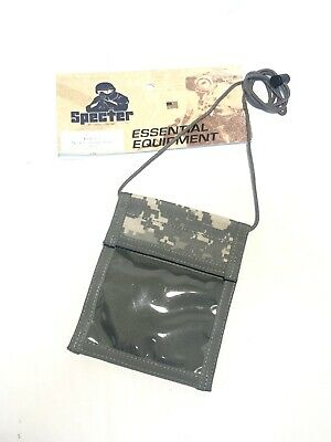 SPECTER GEAR 489 US ARMY ACU MILITARY TACTICAL NECK BADGE ID CREDENTIAL HOLDER