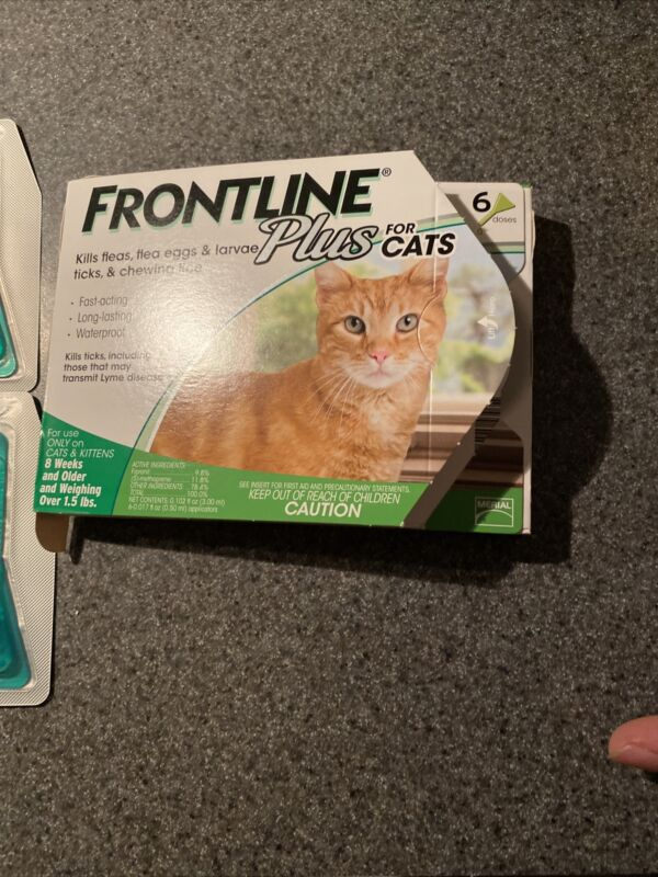 Frontline Plus For Cats Over 8 Weeks 5 Doses