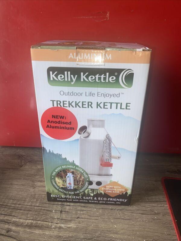 Kelly Kettle® Trekker – Stainless Steel Camp Kettle | Free Shipping!