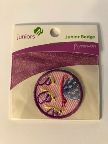 Girl Scout JUNIORS Badge ~ SOCIAL BUTTERFLY ~ new - made in china