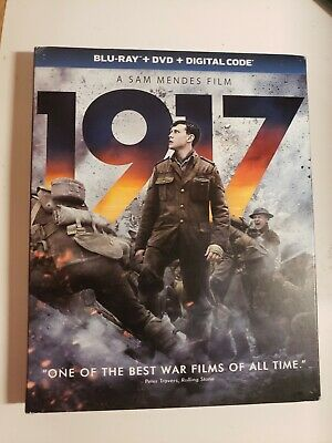 1917 (BLU-RAY Disc+ DVD, 2019) NO DIGITAL