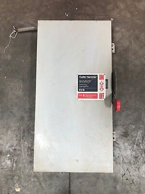 Cutler Hammer 200 Amp Disconnect 600 Vac Dh364ndk