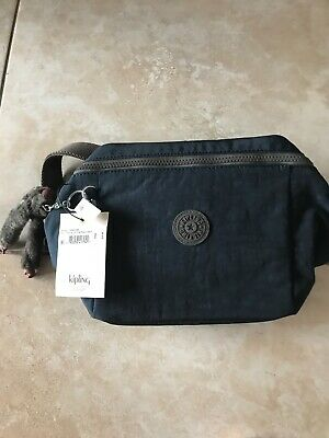 kipling graham lunch bag.. True Blue Contrast Gray