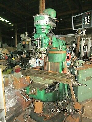 Bridgeport Manual Mill Used Has Digital Read Out