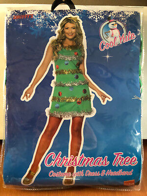 Costume Tree (WOMENS CHRISTMAS TREE COSTUME - DIFFERENT SIZES AVAILABLE - BRAND)