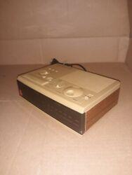 Vintage 1980s Sony Dream Machine ICF-C3W FM/AM Radio Alarm Clock TESTED GREAT