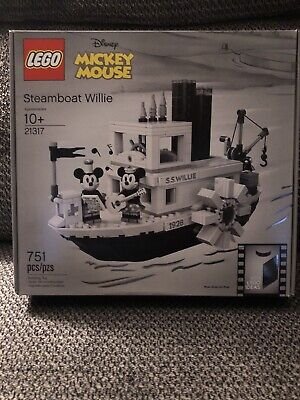 LEGO Ideas Disney - Steamboat Willie 21317 - Mickey Mouse Minnie Mouse - New