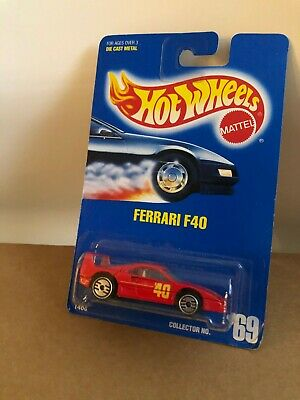 Hot Wheels Ferrari F40 Collector #69 Red E2