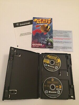 Pac-Man Vs Pac-Man World 2(Nintendo GameCube)Video Game Complete w/Manual Tested