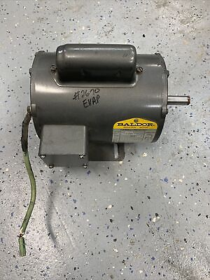 Baldor Electric Motor L1304a 12 Hp 115208-230 Vac 60hz 1 Phase
