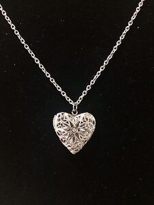 Heart Aromatherapy Essential Oil Diffuser Necklace London Ontario image 1