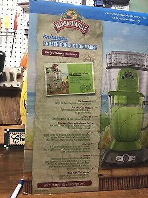 Margaritaville® Bahamas Frozen Concoction™ Maker-NEW IN BOX-Sunbeam from bed & b