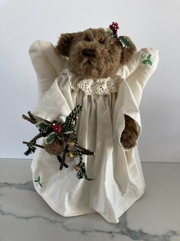 ANGEL BEAR 1998 The Best of Christmas Made Only in Chicopee, Mass, USA Vintage