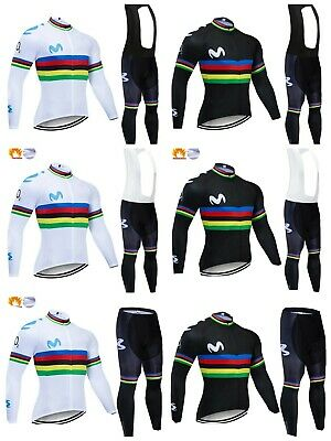 equipacion invierno movistar maillot culotte mtb ciclismo btt