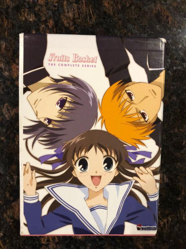 Anime Fruits Basket 2001 Complete Series DVD Set