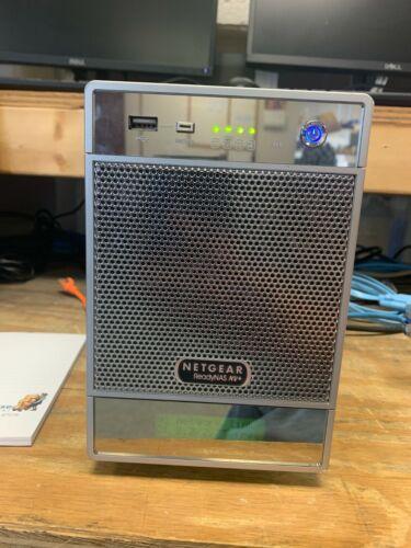 Netgear ReadyNas NV+ RND4410-100NAS with 4 x 1TB in Raid X Tested Working