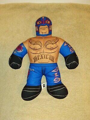 """2012 WWE Brawlin' Buddies Rey Mysterio 619 Mexican 16"""" Talking Wrestler Doll"""