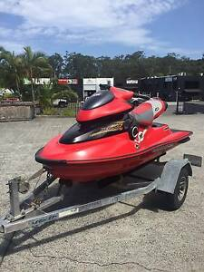 Seadoo 951 XP Di jetski on trailer for sale Southport Gold Coast City Preview