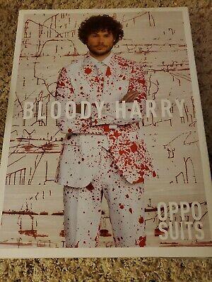 Oppo Suits Halloween (OppoSuits Men's Bloody Harry Halloween Suit sz)