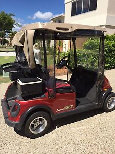 Electric golf buggy. RXV Executive EZGO Hope Island Gold Coast North Preview