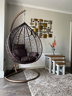 Hanging Egg Chair Luxury Rattan Style *Brand new*