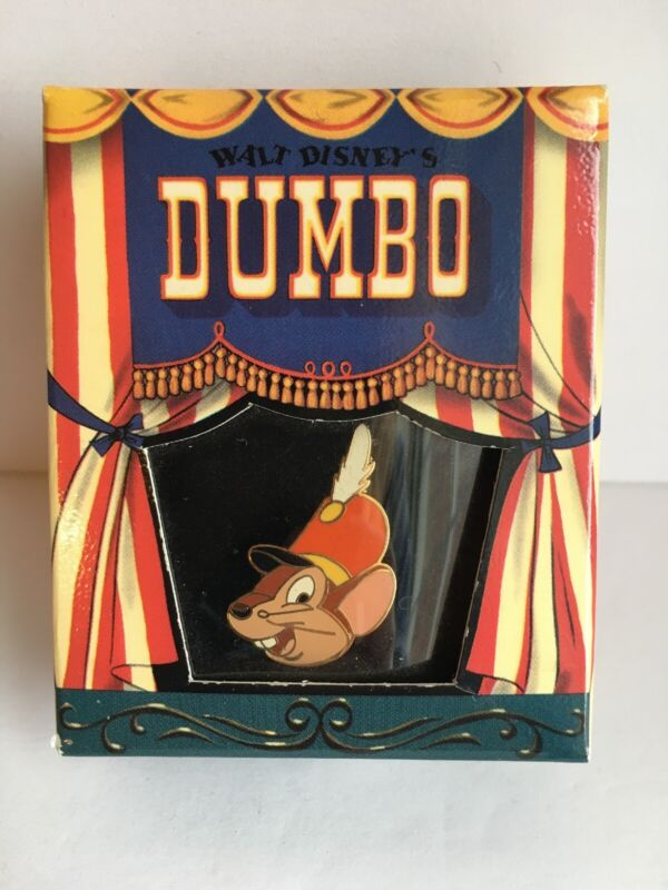 Disney Dumbo Timothy the Mouse Ringmaster Pin in Box LE 5000 Disney Gallery